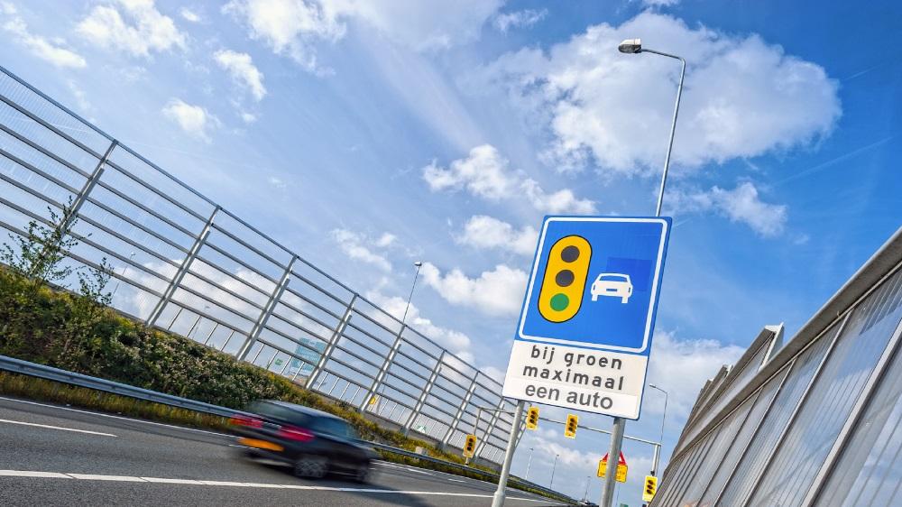 Voorbeeld van beleid op flow van verkeer